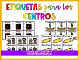 Center Labels Spanish