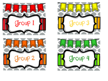 *****EDITED******Center Labels, Student Labels, and Bin Labels