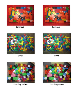Table Toys Labels (ECERS)