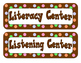 Center Labels/Tags - Dot Themed - Dots on Chocolate