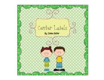 Center Labels- You can EDIT!