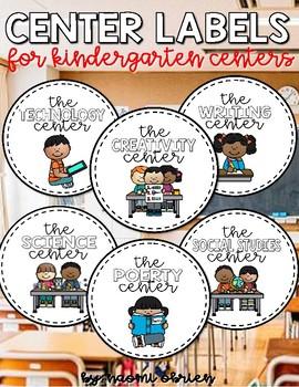 Center Labels and Tasks
