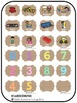 Center & Literacy Station Cards - Burlap