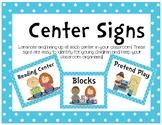 Center Management Signs