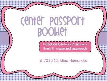 Center Passport Handout