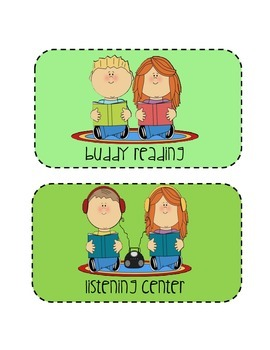 Center Picture Cards