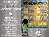Complete Rotations Board Setup (EDITABLE pages in Powerpoint!)
