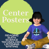 Center Posters and Cards   Space Theme