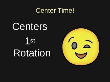 Center Power Point Rotations