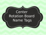 Center Rotation Board Name Tags