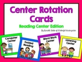 Center Rotation Cards *Reading Edition