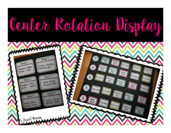 Center Rotation Display {Color}