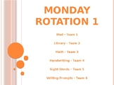 Center Rotation Power Point