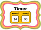 Center Rotation Powerpoint with Timer - EDITABLE