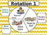 Center Rotation Timer