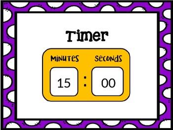 Center Rotation Timer - Editable