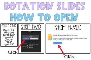Center Rotation Timer Slides