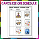 Center Rotation Schedule and Cards for Classroom Management