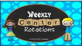 Weekly Center Rotations PowerPoint 5 Rounds