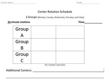 Center Rotations Templates