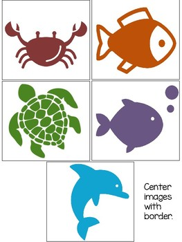 Center Schedule Ocean Theme