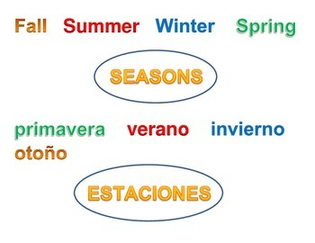 Seasons - Center - Estaciones