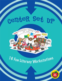 Center Set Up: 16 Fun Literacy Workstations