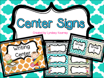 Center Signs - Clouds