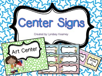 Center Signs - Stars