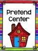 Center Signs for Preschool, Pre-K, and Kindergarten