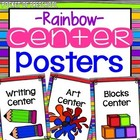 Center Signs for Preschool, Pre-K, and Kindergarten