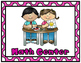 Center Signs:  22 different learning center signs (2 frame colors-pink & black)