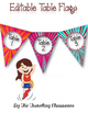 Center Signs & Table Numbers {Super Hero Theme} EDITABLE