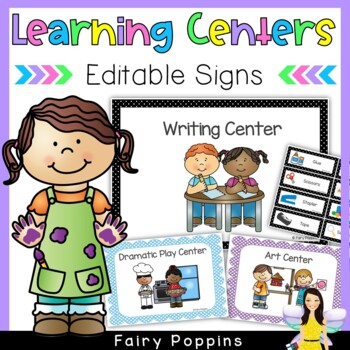 Classroom Posters, Center Signs & Labels (American & Austr