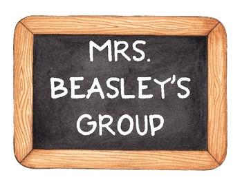 Center Signs - Beasley
