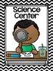 Center Signs {Black and White Chevron Classroom Decor Theme} EDITABLE