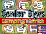 Center Signs - Camping