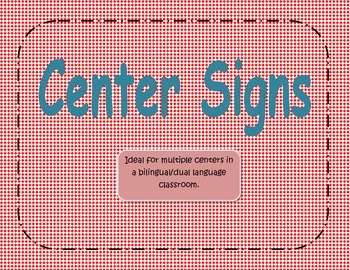 Center Signs Diamond Red