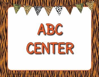 Center Signs - Editable