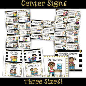 Center Signs Editable Options - Heart of Gold