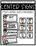 Center Signs { Melonheadz Version }