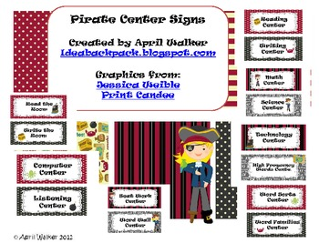 Center Signs - Pirates