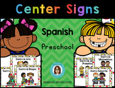 Center Signs in Spanish
