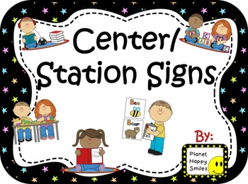 Center Signs ~ Station Signs (Bright Stars)
