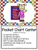 Center Signs With Objectives  Literacy and Math