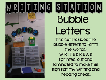 Center Signs: Write and Read