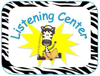 Center Signs- Zebra