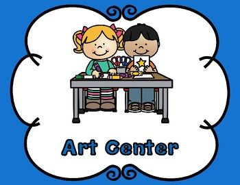 Center Signs and Anchor Charts Combo:  EDITABLE
