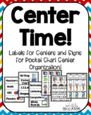 Center Signs for Organization