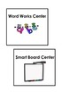Center Signs for Pocket Chart